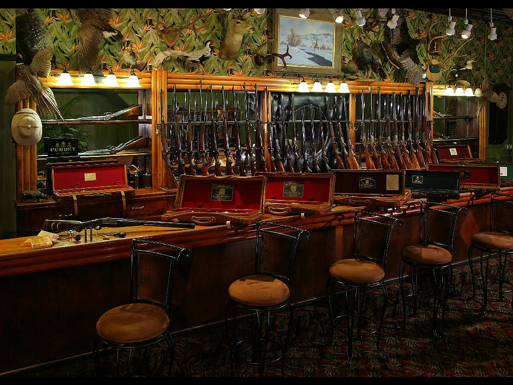 Puglisi gun emporium for Home gun room